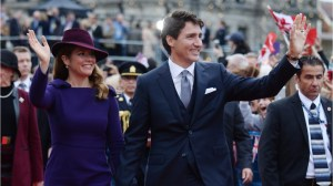 The Trudeaus are not attending Prince Harry and Meghan Markle's royal wedding