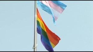 Peterborough Pride Week flag raising