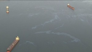 MV Marathassa fuel spill cost recovery effort stalled