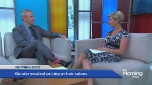 A Halifax hair salon introduces gender-neutral prices (01:48)