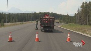 Wildfires force closure of Highway 93 from Radium Hot Springs to Alberta border