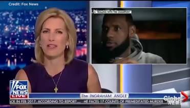 282932e51ce8 Fox News host slammed for telling LeBron James to  shut up and dribble