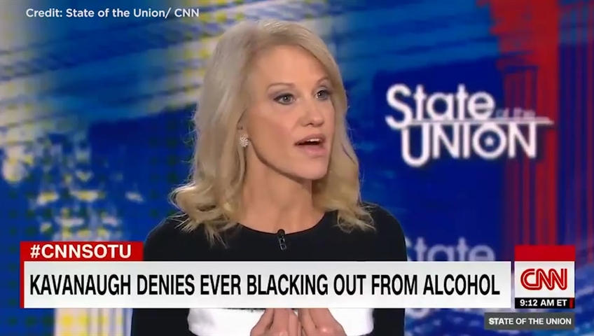 Trump adviser Kellyanne Conway: 'I'm a victim of sexual assault'