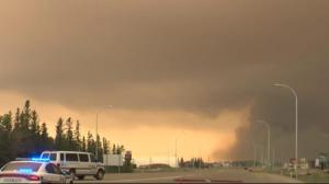 Alberta wildfire growing but not advancing toward High Level