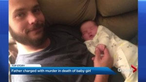 Father of 3-week-old girl charged in her death