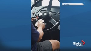 STM driver caught using cellphone on bus route