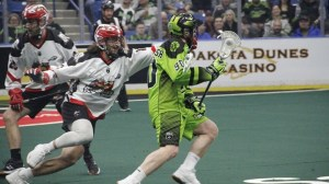 Jeff Shattler scores hat trick, four assists to lead Saskatchewan Rush past Calgary Roughnecks