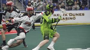 Jeff Shattler scores hat trick, four assists to lead Saskatchewan Rush past Calgary Roughnecks
