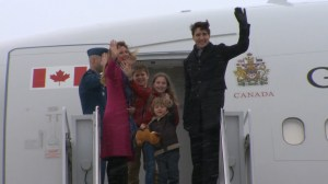 Justin Trudeau departs for week-long India trip focusing on trade with kids in tow