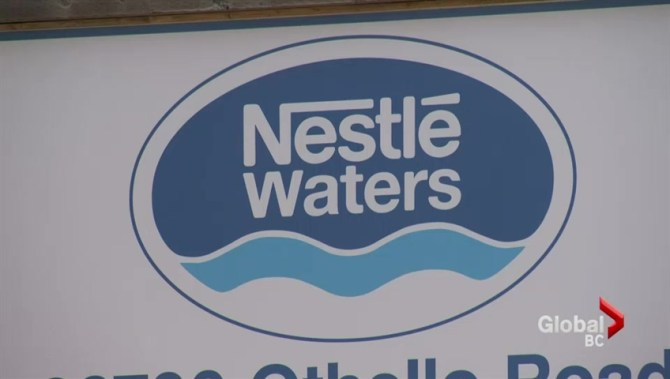 Nestle faces renewed criticism of their B.C. groundwater operations as drought levels increase