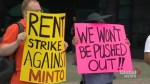 Flemingdon Park tenants on rent strike hold protest