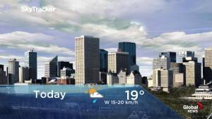 Edmonton early morning weather forecast: Tuesday, June 4, 2019