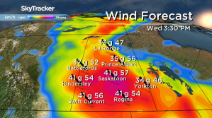 Saskatoon weather outlook: wild and windy Wednesday on the way