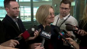 Alberta premier anticipates support from other provinces