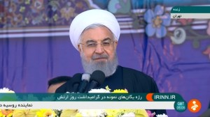 Iran's president warns U.S. over nuclear deal