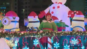 Santa's Parade of Lights to take over downtown Edmonton