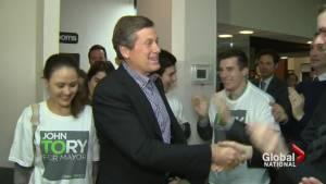 John Tory wins Toronto mayor race