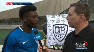 Interview with Edmonton-raised soccer star Alphonso Davies