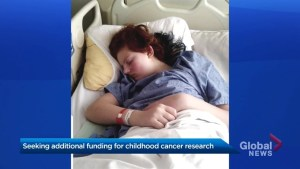 Mother seeks additional funding for childhood cancer research