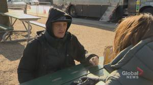 Man staying at Toronto respite centre describes life in the cold