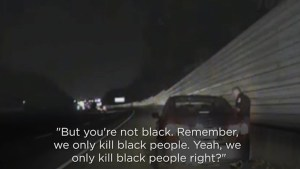 Georgia cop under fire after telling motorist that police 'only kill black people'