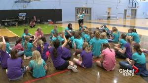 Professional athletes inspire young girls in Lethbridge to pursue success in sport