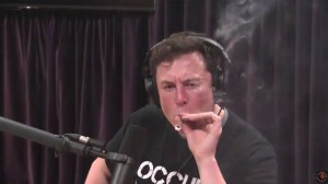 Elon Musk smokes weed on live web show with comedian Joe Rogan