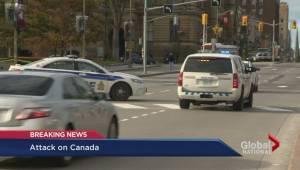 Attack on Canada: Gunman targets soldier in Ottawa