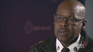 Chief Mark Saunders discusses Toronto's homicides in 2018