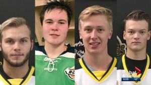 Edmonton-area players killed in Humboldt Broncos crash