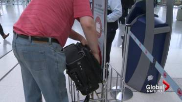 Airlines around the world have seen the number of carry-on bags rise as  they implement checked baggage fees. Air Canada ... 6795ba6500145
