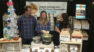 Homemade cheese making kits at Edmonton's Butterdome Craft Sale