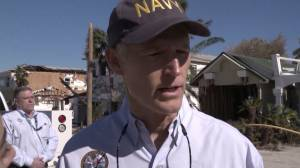 'It's like a bomb went off': Florida governor visits community devastated by Hurricane Michael