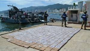 Mexican marines seize 1 tonne of cocaine, 10 tonnes of meth in 2 operations
