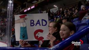 Vancouver Giants help little girl find her voice
