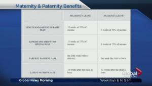 Taking parental leave in Quebec