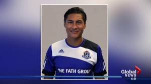 FC Edmonton player's legend looms large in home country