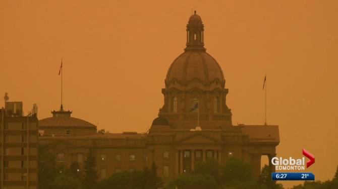 More smoky skies bulletins released for northern, eastern B.C. due to Alberta wildfires