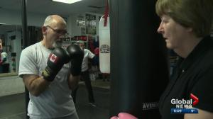 Boxing gives Edmontonians with Parkinson disease a new lease on life