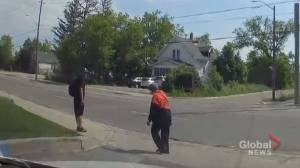 Police searching for suspect caught on racist dash cam video in Markham
