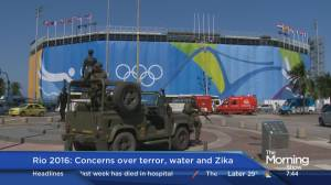 More concerns arise in Rio as the Olympics near