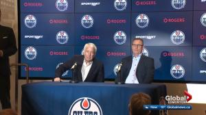 Edmonton Oilers management discusses disappointing season
