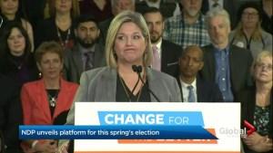 Ontario NDP release election platform