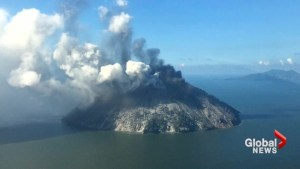 Volcano eruption in Papua New Guinea surprises villagers, forces evacuation of island