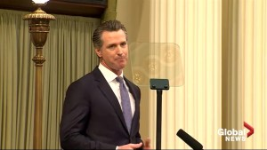 California Governor Gavin Newsom criticizes Trump on border in first State of the State