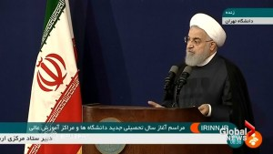 U.S. wants 'regime change' in Iran: Rouhani