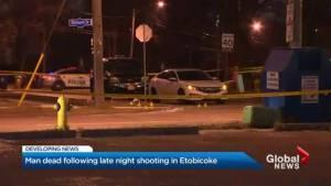 Man fatally shot in Etobicoke