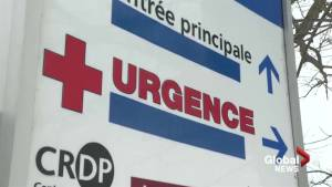 Lachute hospital language controversy heats up (01:43)