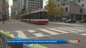 King Street pilot project marks first year