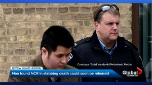 Man found not criminally responsible in stabbing death could soon be released